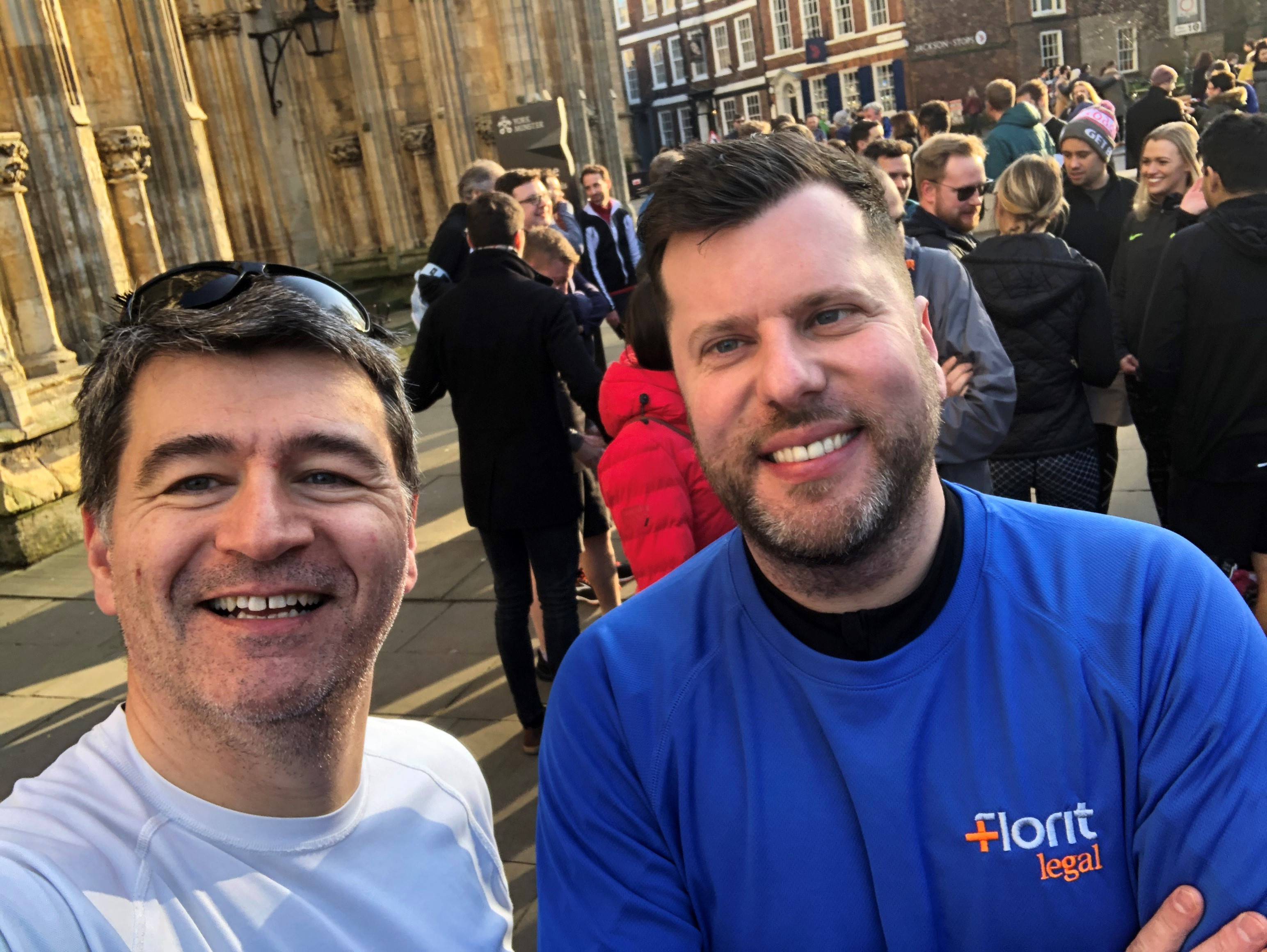 We're running to help In-house Lawyer Adam Gray fight cancer