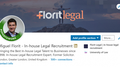Legal Job Seekers Benefit from New Linkedin Feature