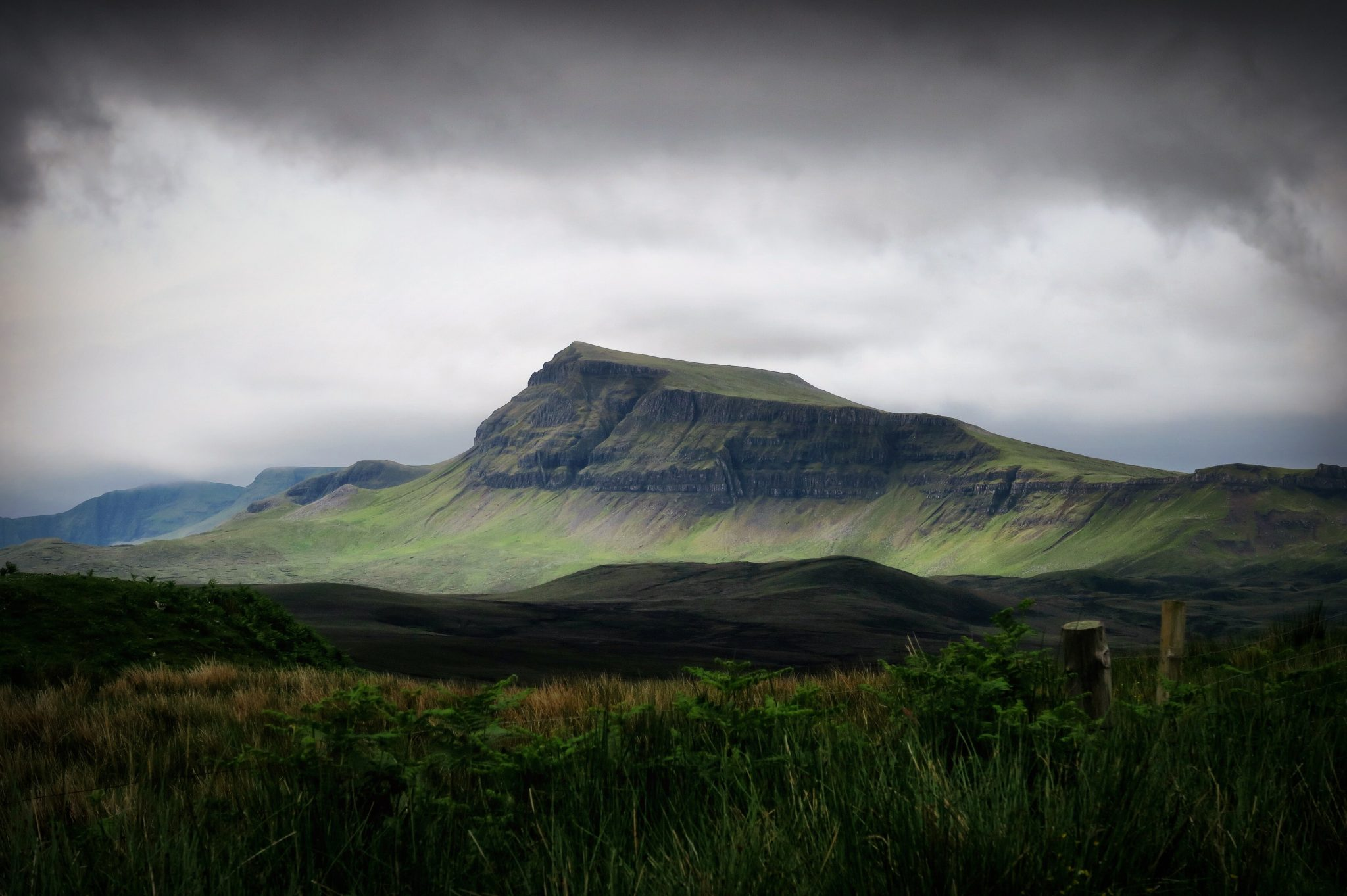 A photograpth of The Quiraing, Portree, UK
